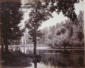 View on the Dhul Canal - Cashmere. Prize photograph 1865