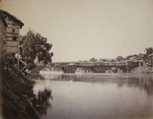 Bridge of Shops at Srinuggur