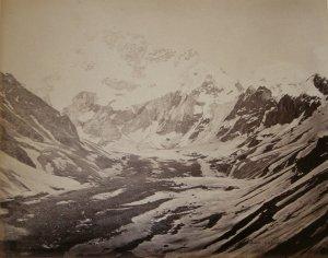 Great Snowy Peak, South of Hamta Pass